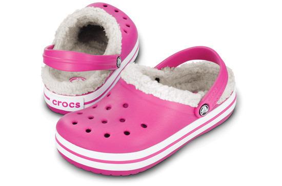 CHILDREN'S CROCS SHOES FLIP-FLOPS  MAMMOTH 11128 FUCHSIA