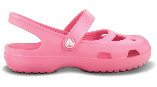 CHILDREN'S SHOES FLIP-FLOPS CROCS SHAYNA GIRLS 11372 HOT PINK