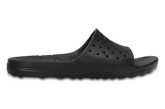 MEN'S SHOES FLIP-FLOPS CROCS CHAWAII SLIDE 202222 BLACK