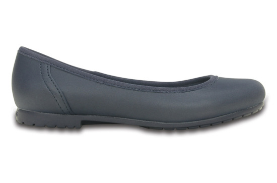 WOMEN'S SHOES BALLERINA CROCS COLORLITE 201581 NAVY