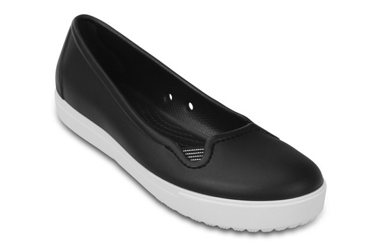 WOMEN'S SHOES CROCS CITILANE FLAT 202923 BLACK