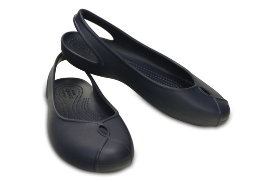 WOMEN'S SHOES CROCS OLIVIA II FLAT 202826 NAVY
