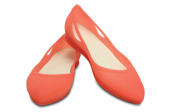 WOMEN'S SHOES CROCS RIO FLAT 16265 CORAL