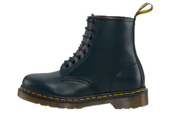 WOMEN'S SHOES DR. MARTENS 1460 NAVY SMOOTH