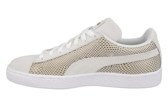 WOMEN'S SHOES PUMA SUEDE GOLD 361862 02