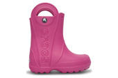 CROCS SHOES WELLINGTONS HANDLE IT RAIN FUCHSIA 12803