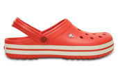 MEN'S SHOES CROCS CROCBAND 11016 FLAME/WHITE