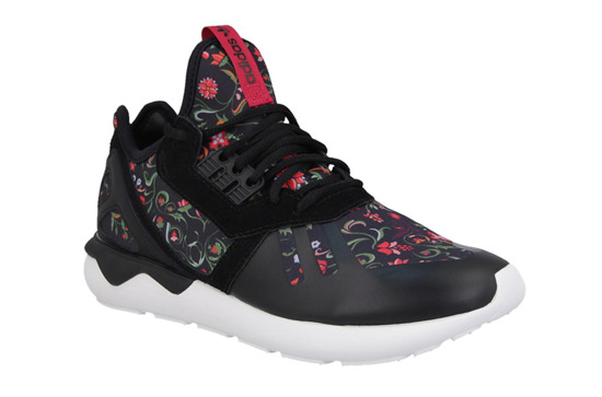 DAMEN SCHUHE ADIDAS ORIGINALS TUBULAR RUNNER FLOWER AF6278