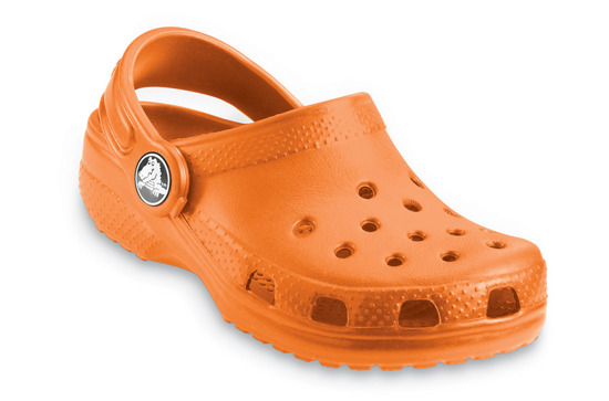 KINDER SCHUHE FLIP-FLOPS CROCS CLASSIC KIDS 10006 ORANGE