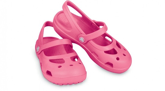 KINDER SCHUHE FLIP-FLOPS CROCS SHAYNA GIRLS 11372 HOT PINK