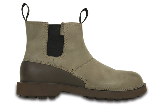 BUTY CROCS BRECK BOOT 201871 WALNUT