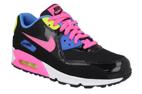 BUTY NIKE AIR MAX 90 MESH (GS) 724855 004