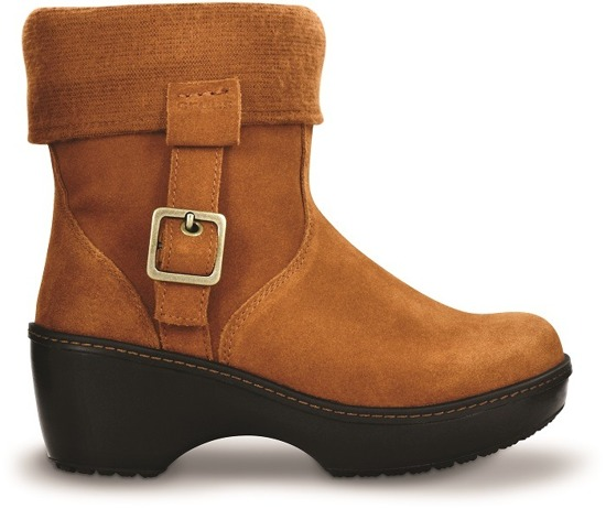 Crocs COBBLER ANKLE BOOT W Chestnut 11554 -60%