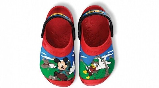 KLAPKI CROCS Mickey Mouse Clog 11154 Red