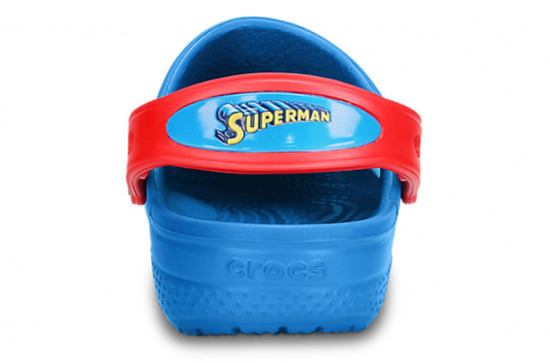 KLAPKI CROCS SUPERMAN 14017 SEA BLUE