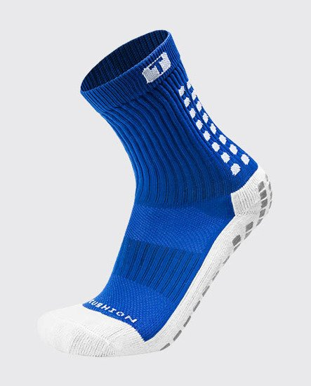 SKARPETY PIŁKARSKIE TRUSOX MID CUSHION BLUE