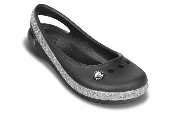 CROCS GENNA II HEARTS BLACK 14481