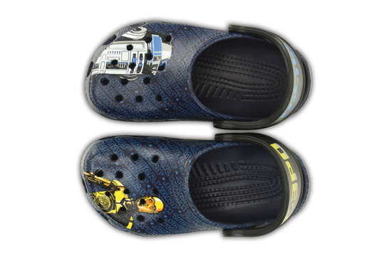 CHILDREN'S SHOES CROCS STAR WARS R2D2 200122 NAVY