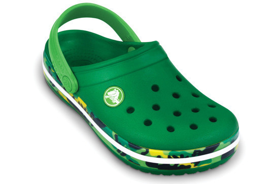 CROCS SHOES FLIP-FLOPS CROCBAND KIDS 11305 GREEN /LIME