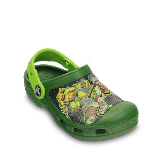 CROCS SHOES FLIP-FLOPS Mutant NinjaTurtles 15607