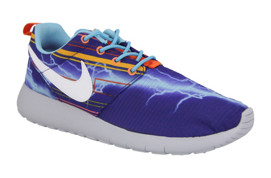 WOMEN'S SHOES  NIKE ROSHERUN PRINT (GS) 677782 401