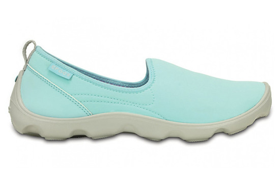 DAMEN SCHUHE CROCS DUET BUSY DAY SKIMMER 14698 ICE BLUE