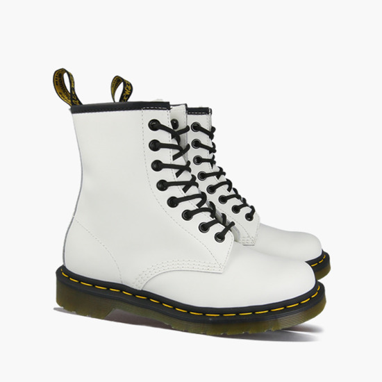 DAMEN SCHUHE DR.MARTENS 1460 WHITE SMOOTH