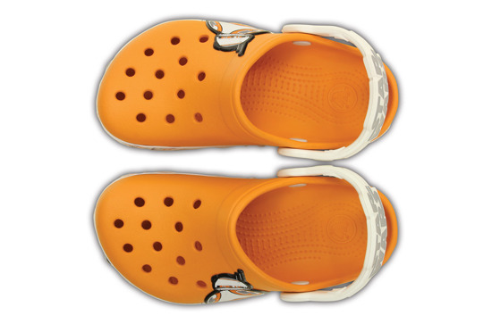 KINDER SCHUHE CROCS STAR WARS HERO 202171 ORANGE