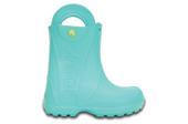 KINDER SCHUHE GUMMISTIEFEL CROCS HANDLE IT RAIN POOL 12803 BLAU