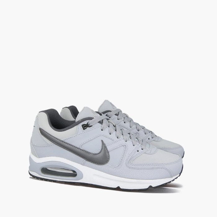 NIKE AIR MAX COMMAND LEATHER GREY WHITE BLUE 629993