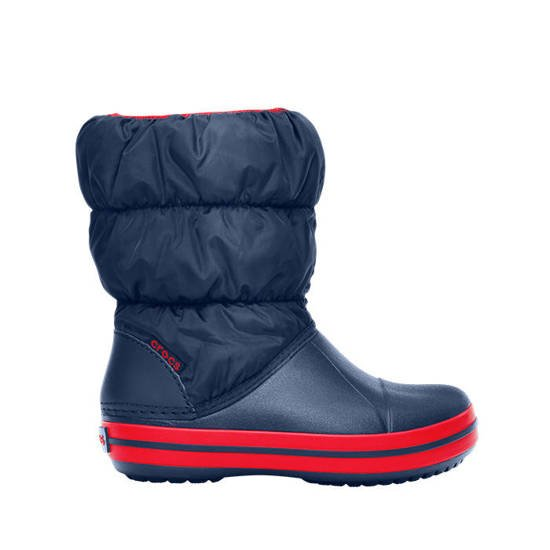 BUTY CROCS WINTER PUFF 14613 NAVY/RED