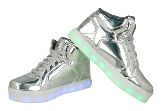 BUTY SKECHERS ENERGY LIGHTS 90603L SIL