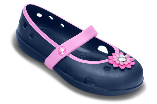 BUTY balerinki CROCS Keeley 15399 NAVY