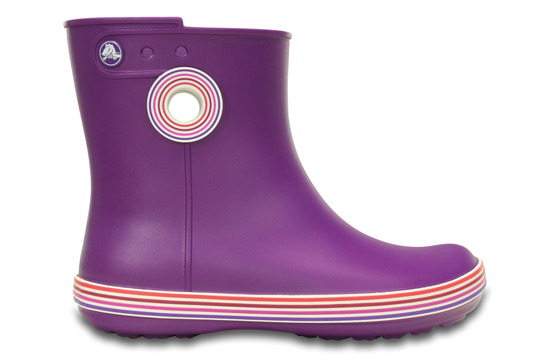 KALOSZE CROCS JAUNT GRAPHIC SHORTY 202317 AMETHYST