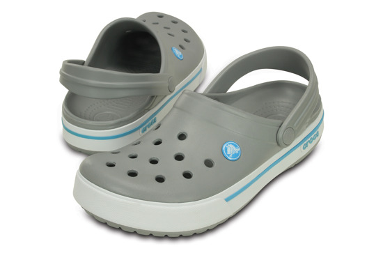 KLAPKI CROCS CROCBAND II.5 12836 LIGHT GREY