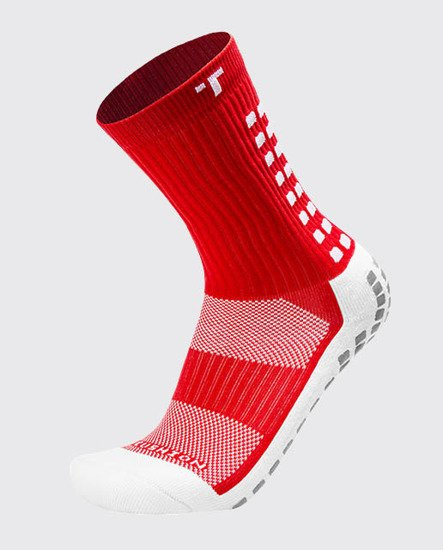 SKARPETY PIŁKARSKIE TRUSOX MIDCALF THIN RED